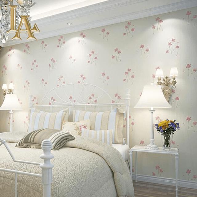 Pretty Flower Wallpaper Bedroom Ideas