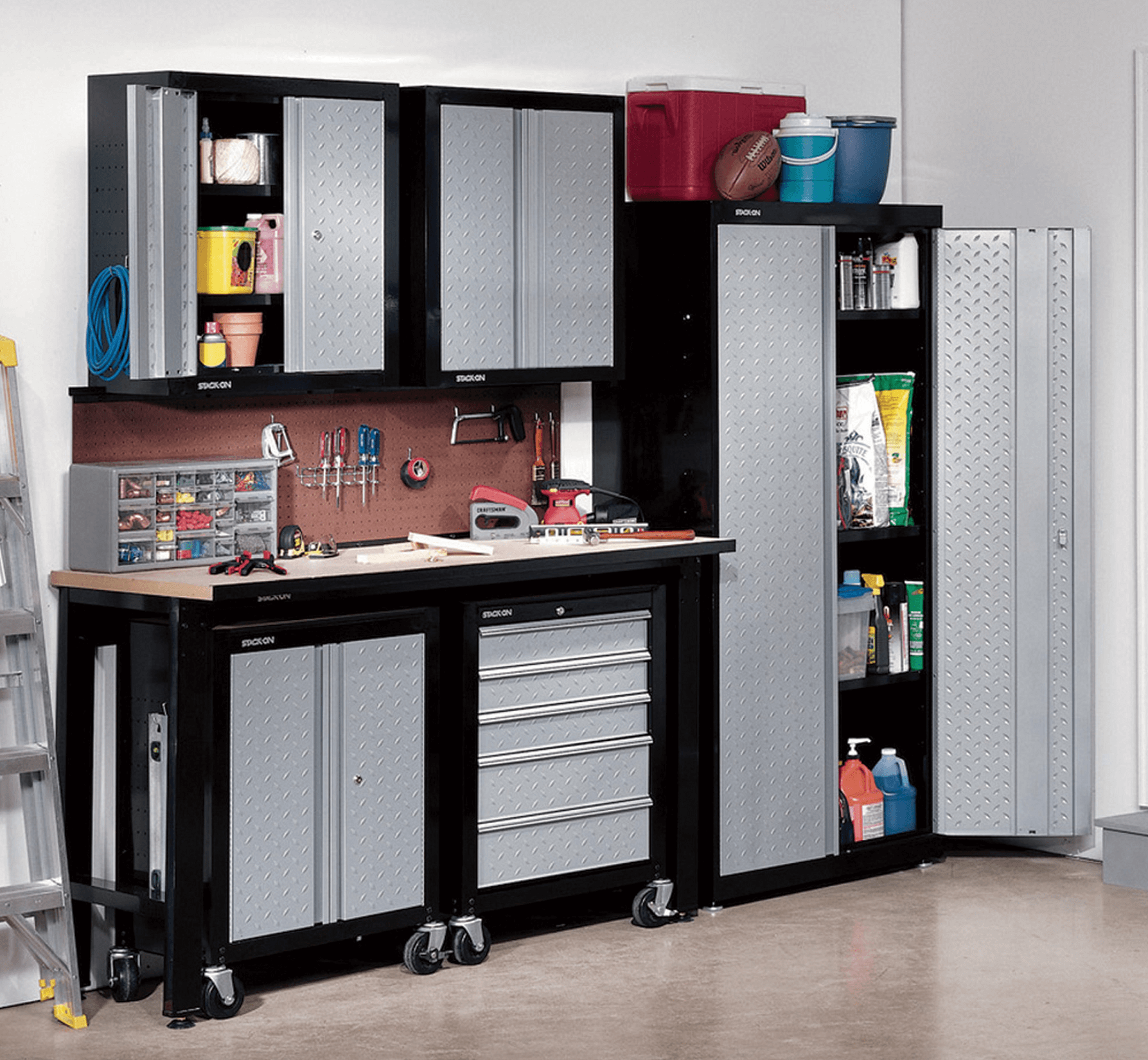 Small garage cabinet design ideas