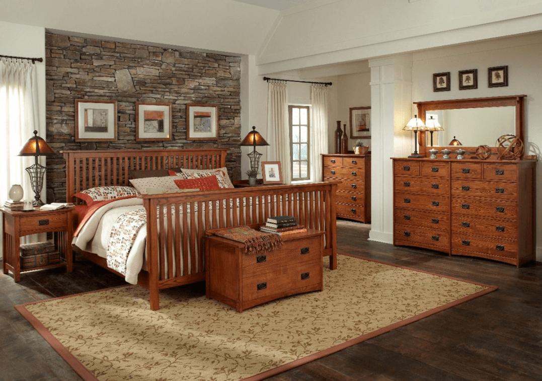 Decorating ideas for oak bedroom furniture
