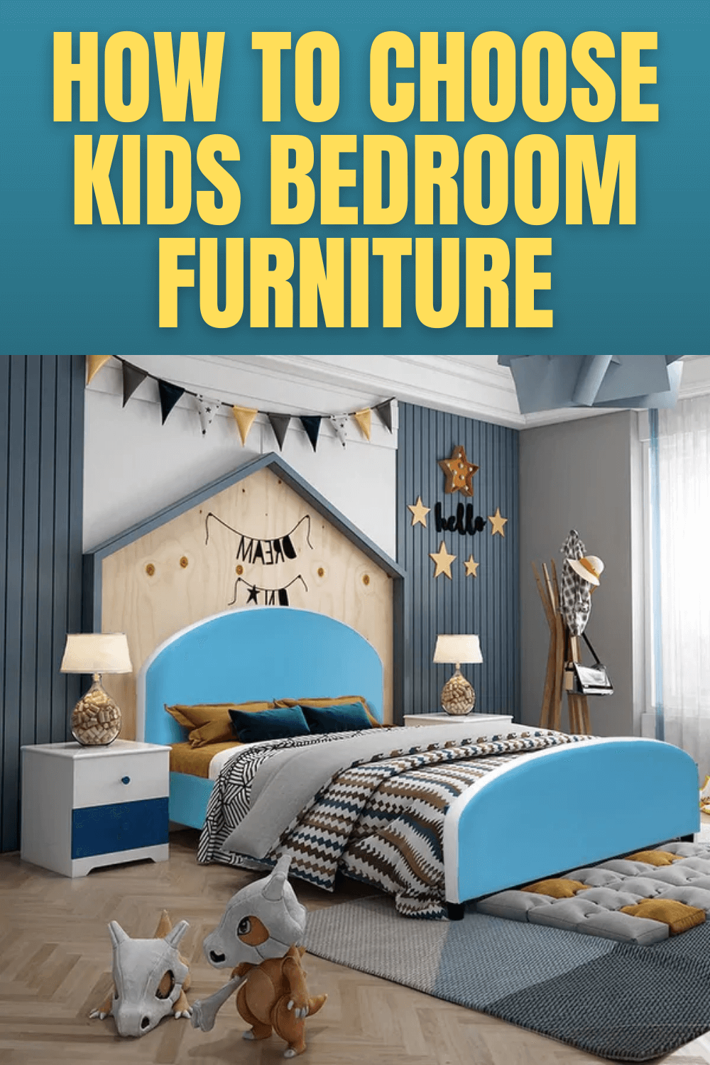 HOW TO CHOOSE KIDS BEDROOM FURNITURE