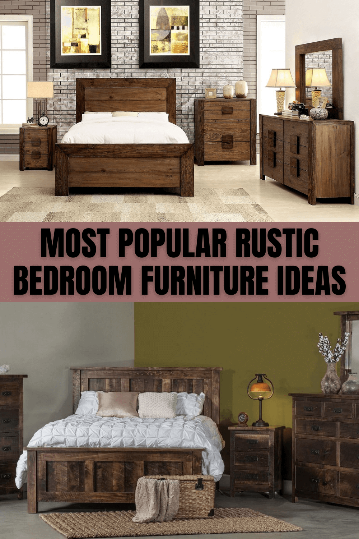 MOST POPULAR RUSTIC BEDROOM FURNITURE IDEAS