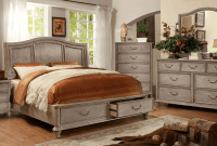 Rustic design bedroom furniture sets
