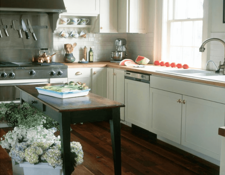 Sofa table kitchen island for small spaces