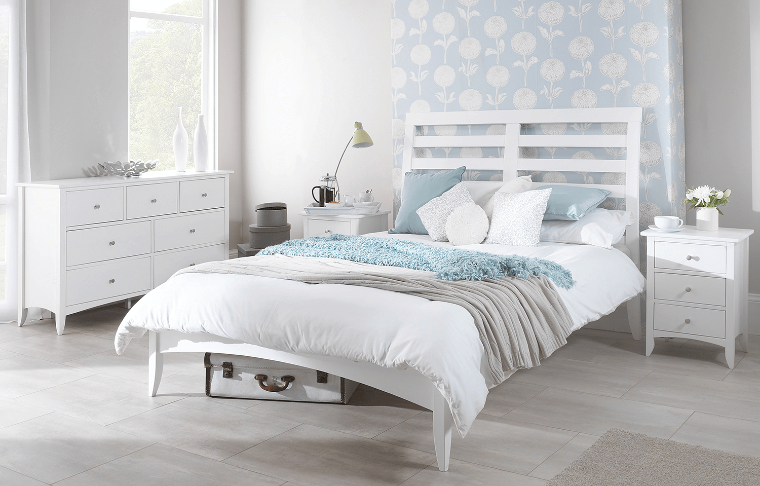 White Bedside Drawers Bedroom Furniture sets