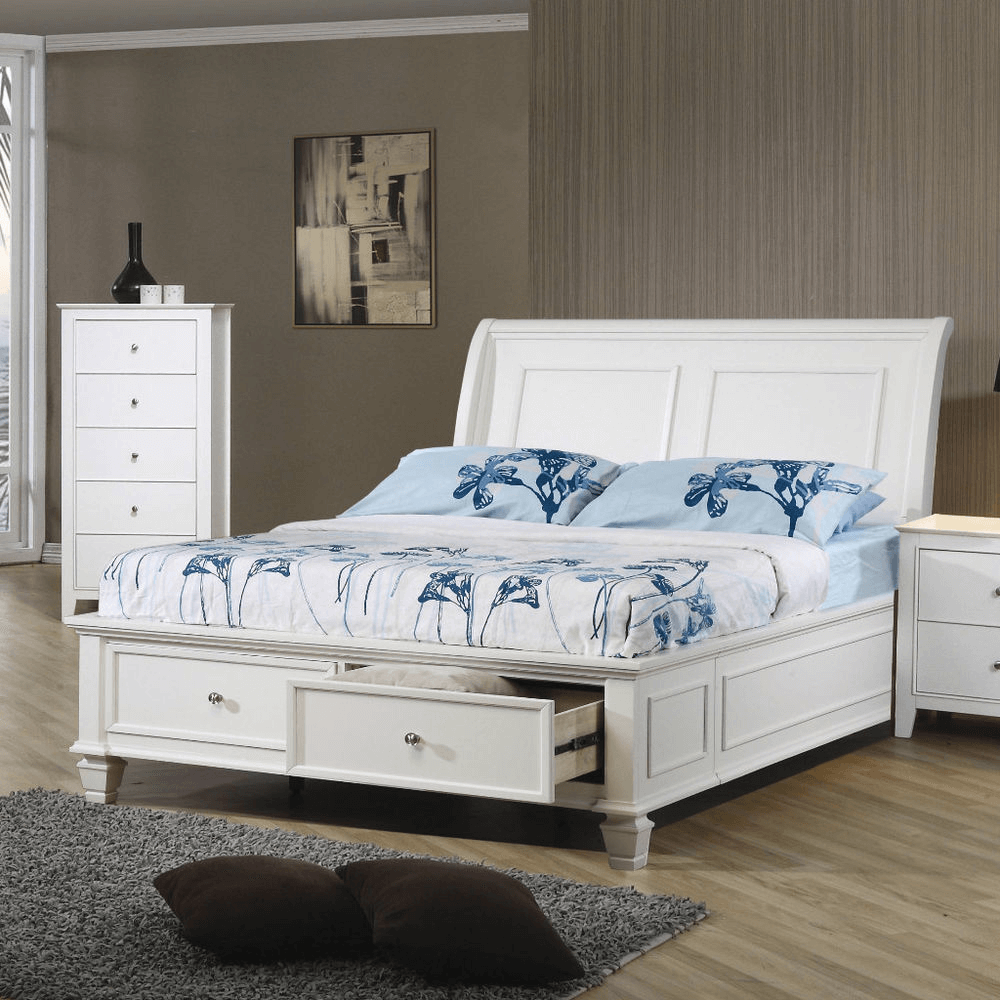 White Headboard Bedroom Furniture
