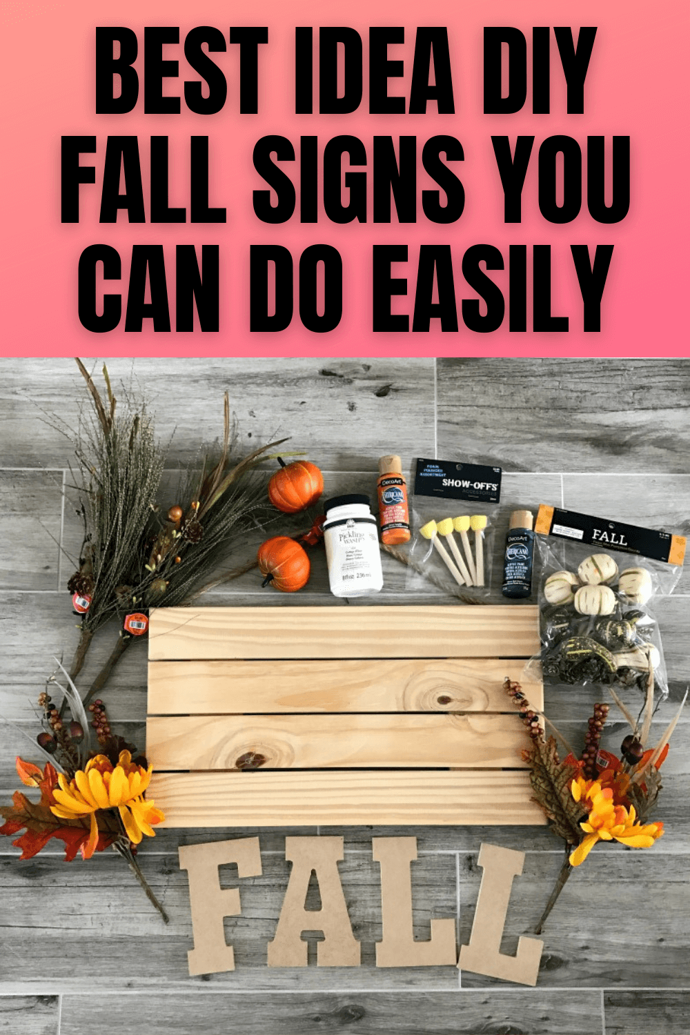 BEST IDEA DIY FALL SIGNS YOU CAN DO EASILY