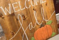 Best Idea DIY Wooden Fall Signs