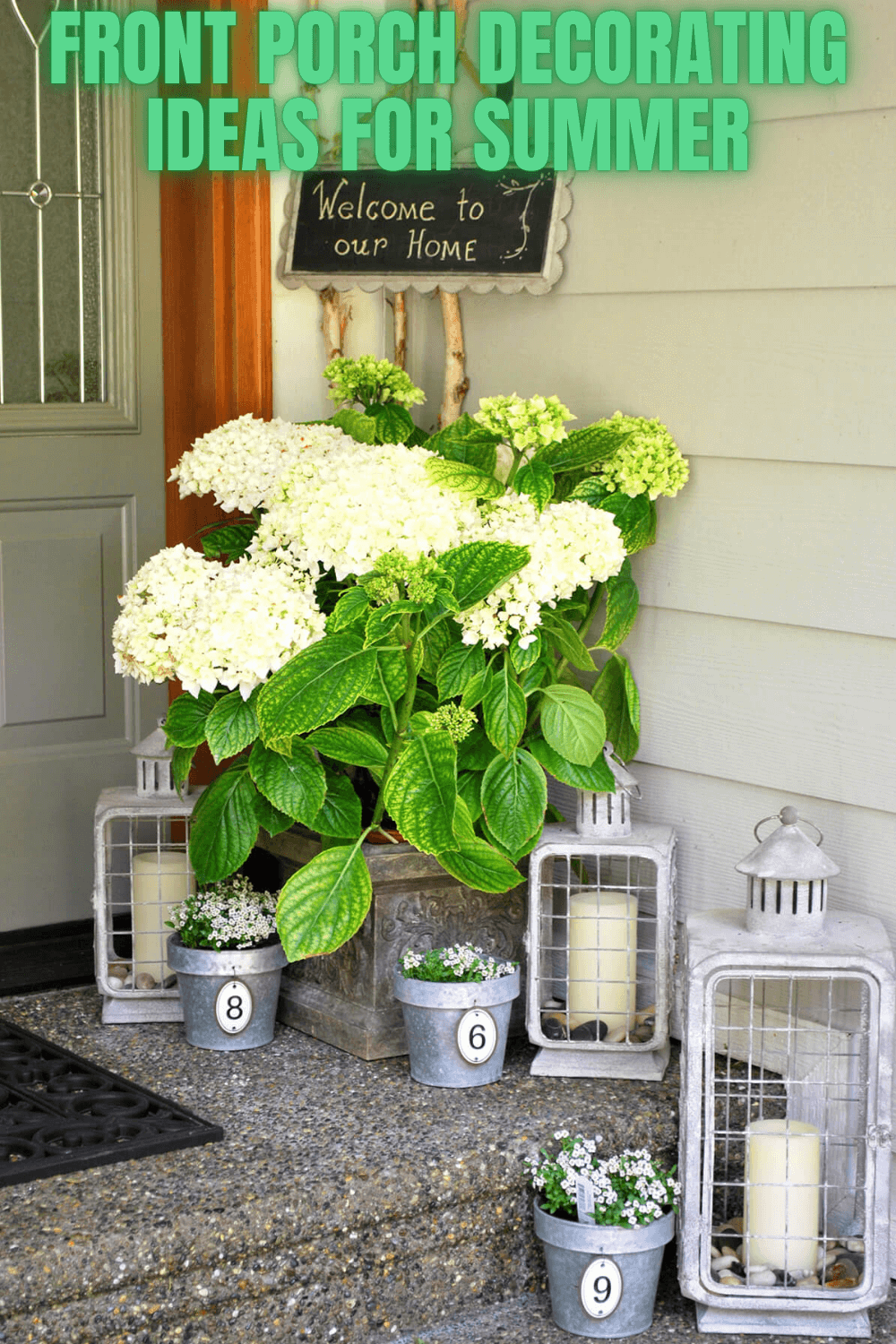 FRONT PORCH DECORATING IDEAS FOR SUMMER