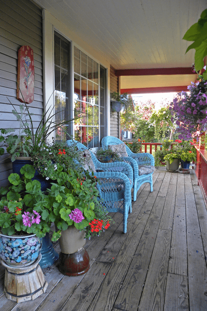 Front porch decorating ideas spring and summer