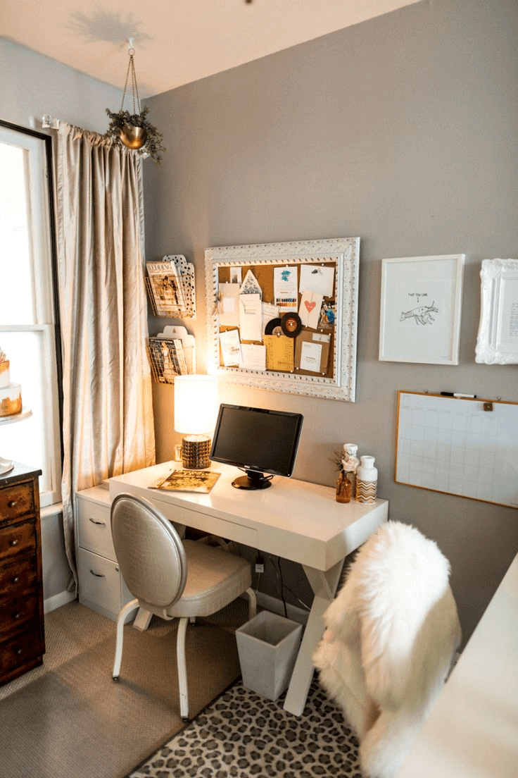 Home Office Room Design: Home Office Ideas For Small Spaces
