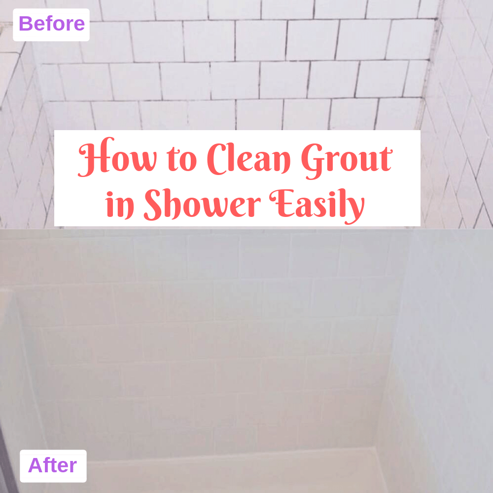How to Clean Grout in Shower Easily
