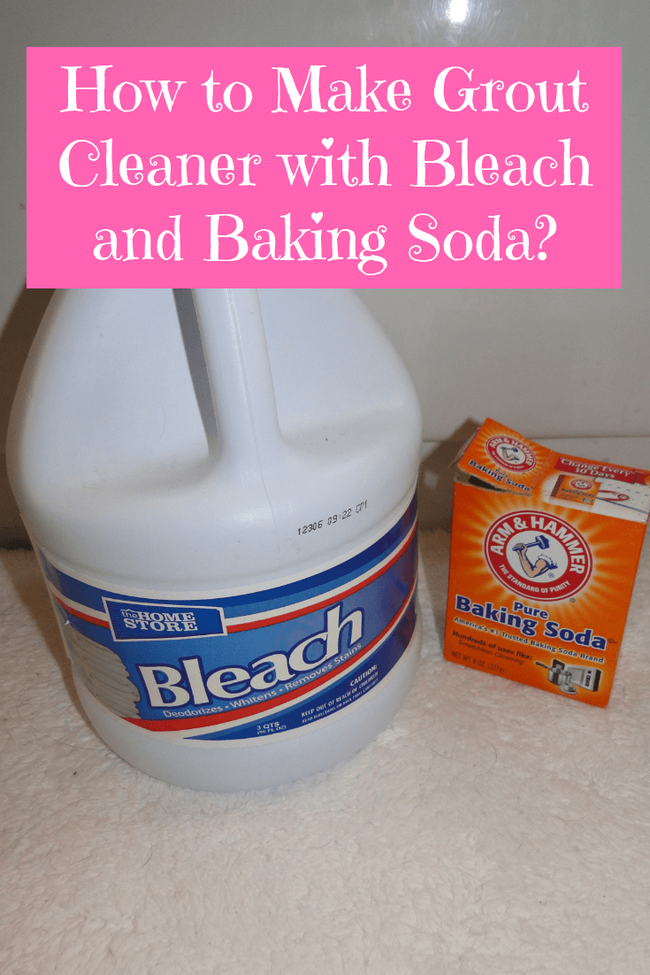 how to make grout cleaner with bleach and baking soda. Black Bedroom Furniture Sets. Home Design Ideas