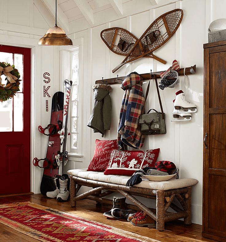 Modern ski cabin decor ideas