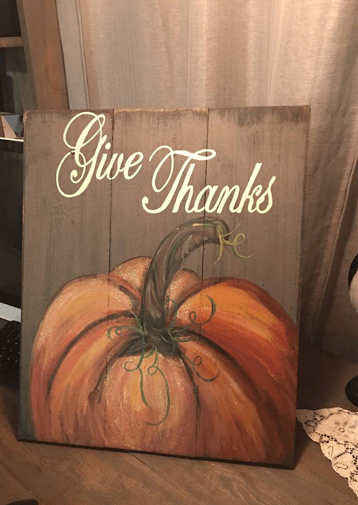 Simple DIY fall barnwood sign decor ideas