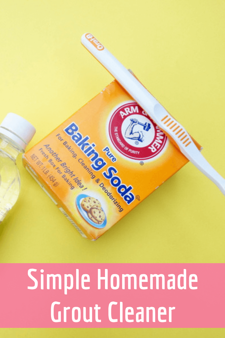 Simple Homemade Grout Cleaner