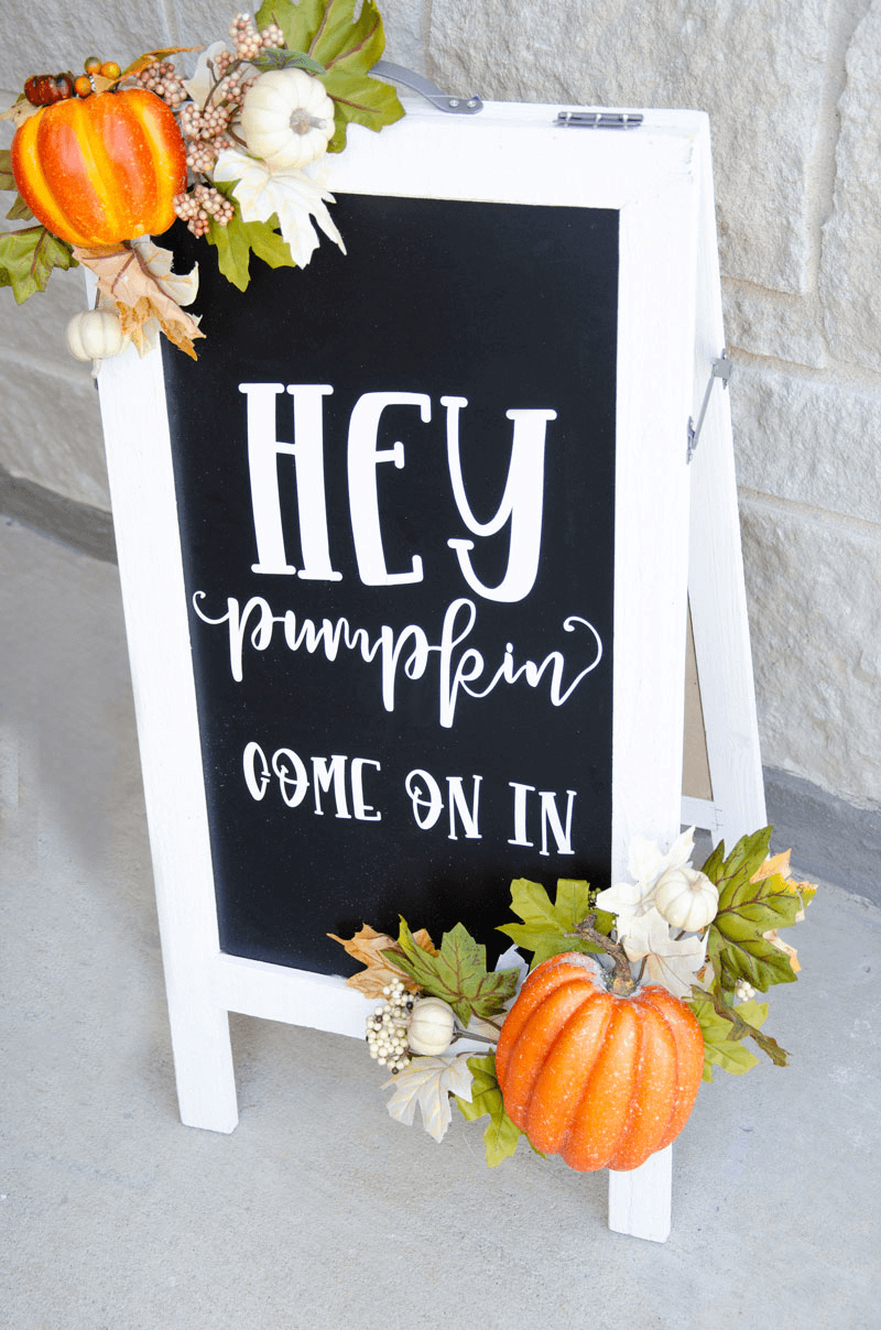 Simple ideas how to make a fall sign for porch