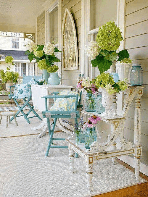 Small front porch decorating ideas for summer