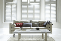Window Shutters Indoor for Living Room Interior design