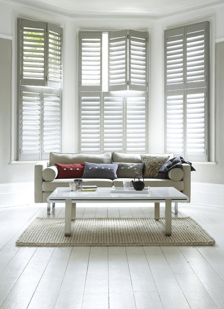 Window Shutters Indoor for Living Room Interior design