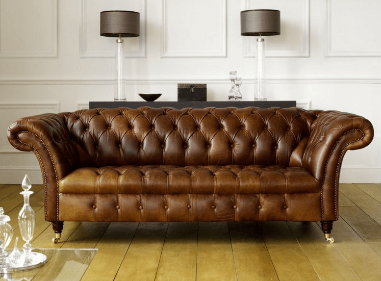 Barrington leather sofa
