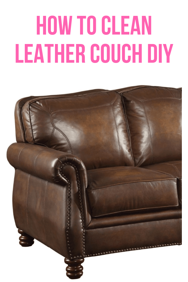 How to Clean Leather Couch DIY Easy