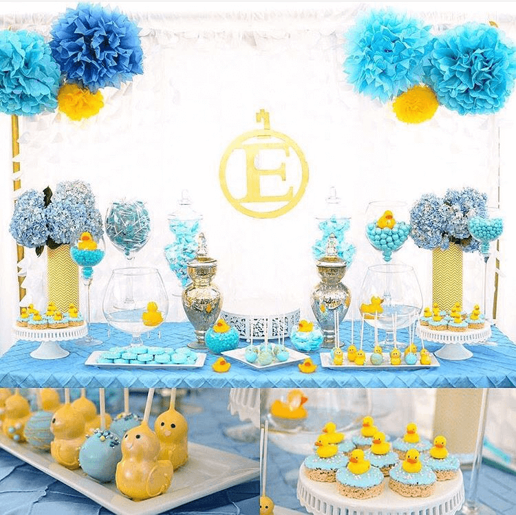 A Rubber Ducky Baby Shower Ideas for Boys