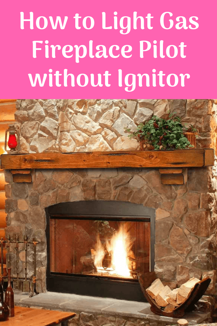 How to Light Gas Fireplace Pilot without Ignitor. Guide.