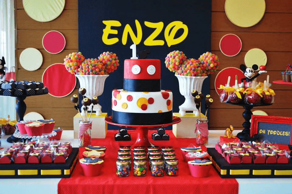 Mickey Mouse Baby Shower Ideas for Boys