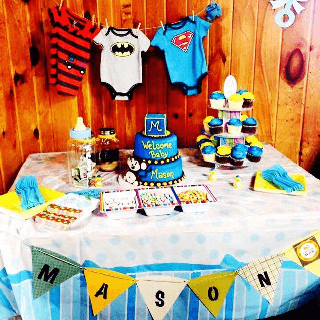 Superhero Baby Shower Ideas for Boys