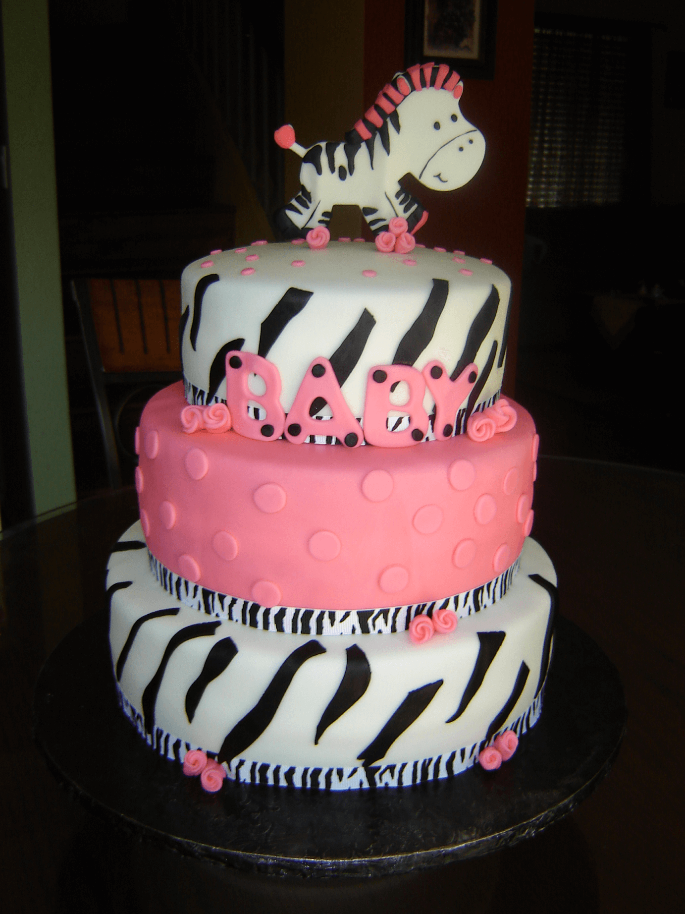 Zebra Baby Shower Ideas for Boys