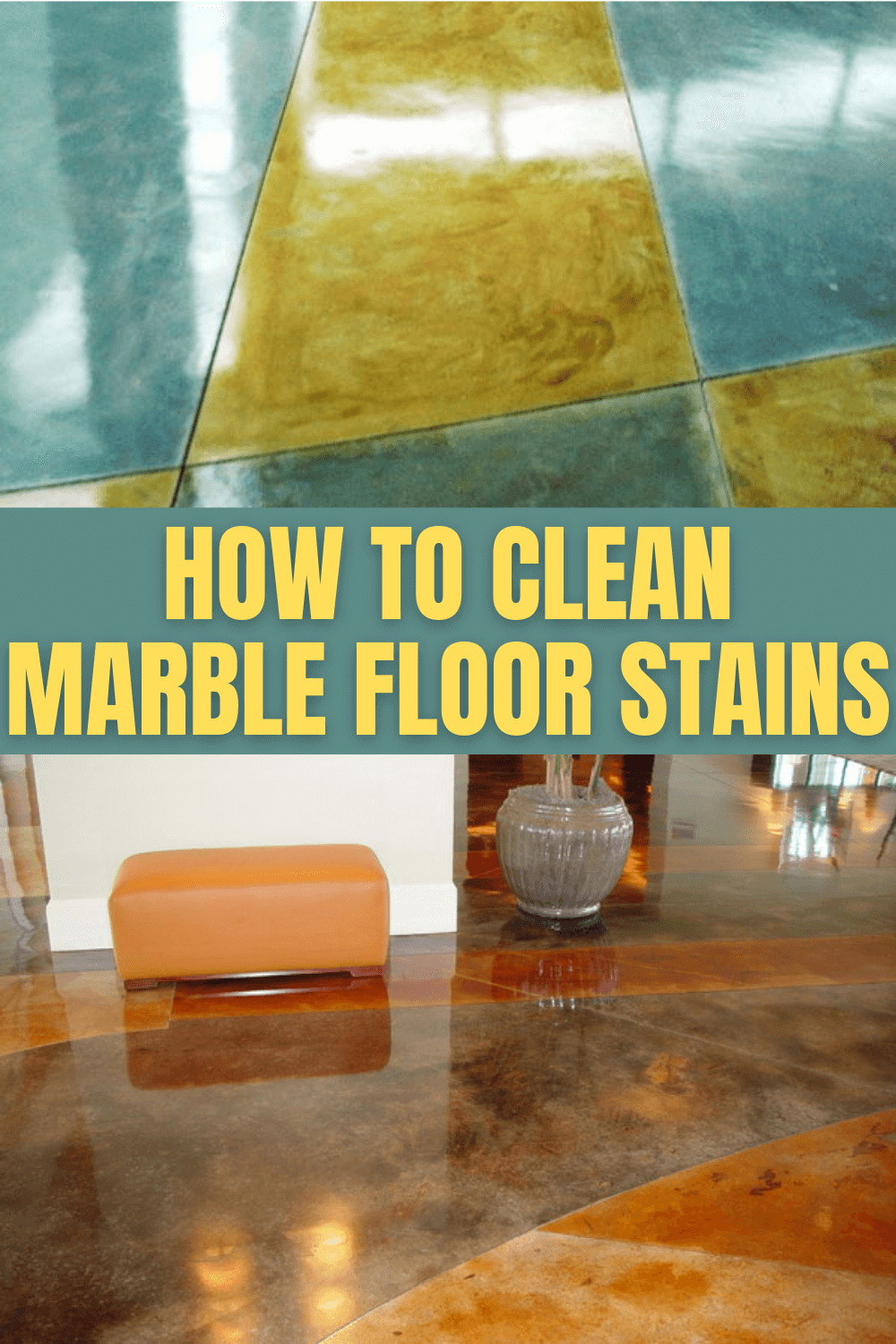 HOW TO CLEAN MARBLE FLOOR STAINS
