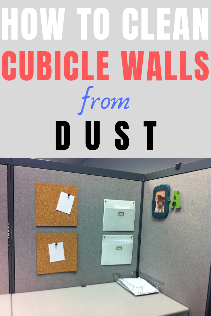 How to clean cubicle walls from dust