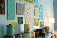 Framed fabric wall art ideas easy DIY
