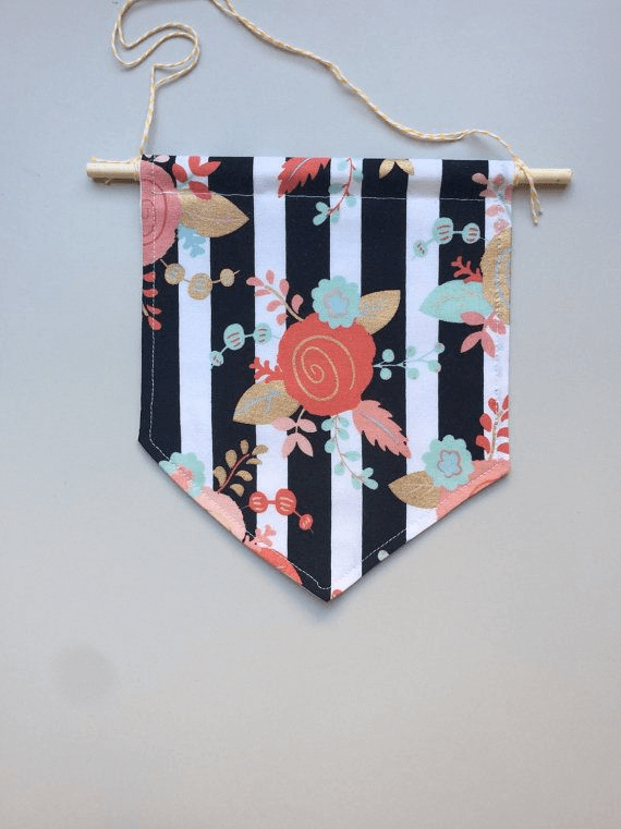 Funny nice textile pennant decor wall hangings ideas