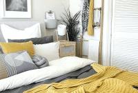 Mustard yellow bedroom decor inspiration