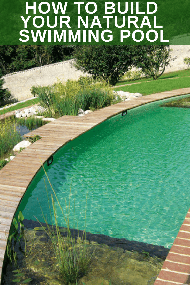 HOW TO BUILD YOUR NATURAL SWIMMING POOL