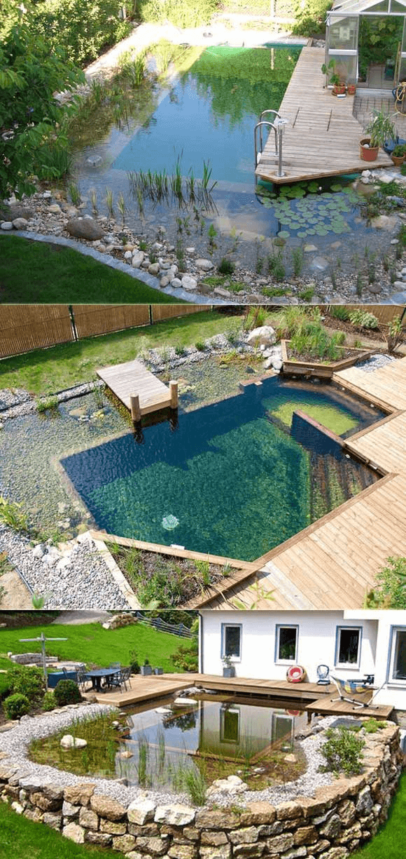 The best natural swimming pool design ideas