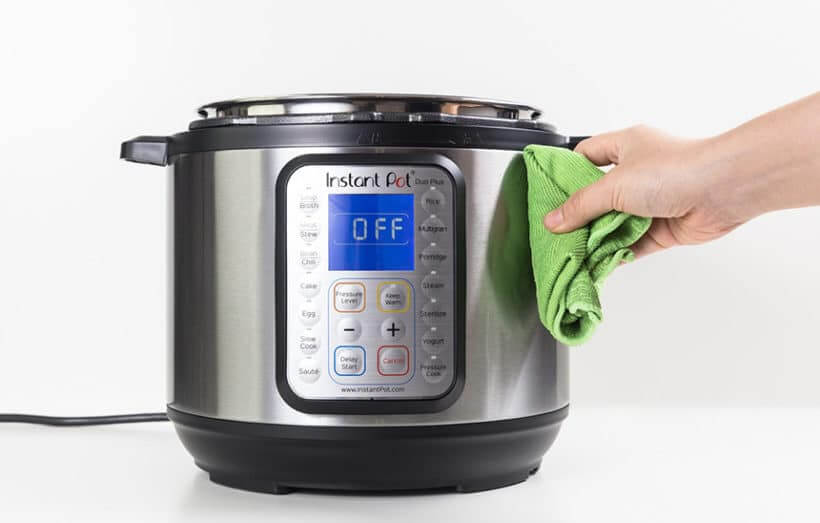 INSTANT POT CLEANING TIPS EASY