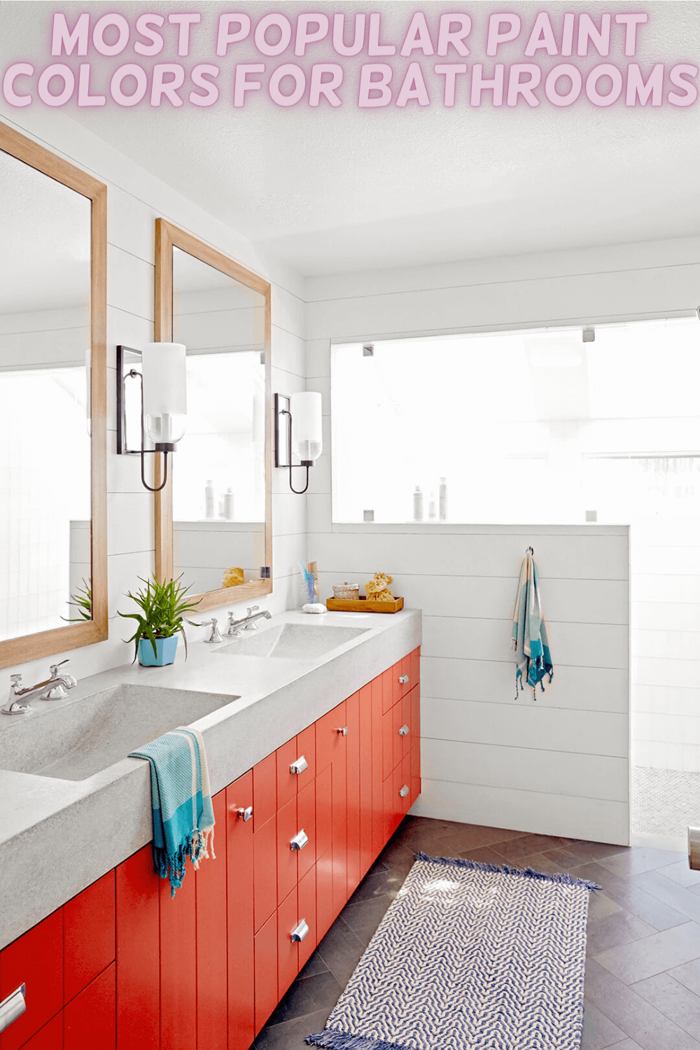 MOST POPULAR PAINT COLORS FOR BATHROOMS