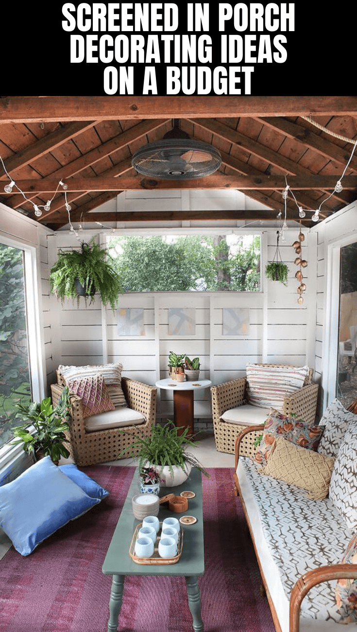 AWESOME SCREENED IN PORCH DECORATING IDEAS ON A BUDGET
